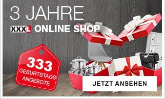 3 Jahre Online Shop